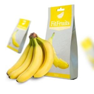 Фруктовые чипсы FitFruits Банан, 20 гр