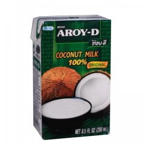 Кокосовое молоко Aroy-D, 250 мл.