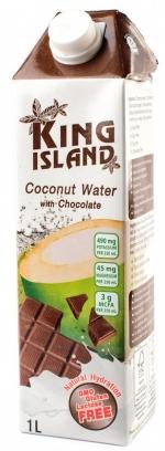 Напиток кокосовый KING ISLAND с шоколадом, 1000 мл