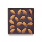 Шоколад Горький с миндалем, 90гр