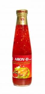 Сладкий соус чили для курицы Aroy-D, 350мл