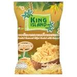 Кокосовые чипсы с карамелью King Island, 40 гр